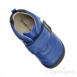 Start-rite First Zak Boys Bright Blue Shoe