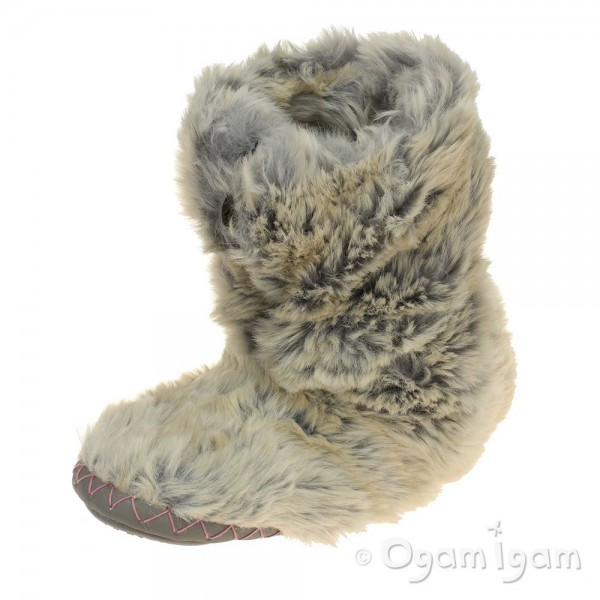 Bedroom Athletics Cole Womens Sand Fox Boot Slipper