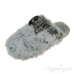 Bedroom Athletics Kimberley Womens Trace Grey Slipper