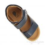 Bobux Driftwood Boys Navy Sandal