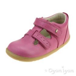Bobux Jack and Jill Infant Girls Pink Shoe