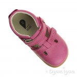 Bobux Jack and Jill Infant Girls Pink Shoe