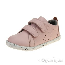 Bobux Grass Court Girls Seashell Pink Shoe