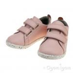 Bobux Grass Court Girls Seashell Pink Shoe