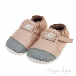Bobux Xplorer Origin Infant Girls Seashell Pink Shoe