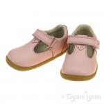Bobux Louise Infant Girls Seashell Pink Shoe