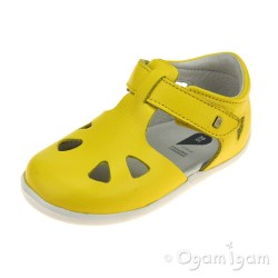 Bobux Zap Infant Girls Yellow Sandal