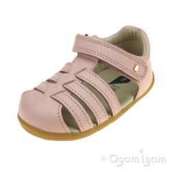 Bobux Jump Infant Girls Seashell Pink Sandal