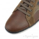 Rieker 1783225 Mens Brown Shoe