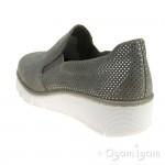Rieker 5376641 Womens Staub Grey Shoe