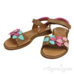 Froddo G315012812 Girls Brown Petals Sandal