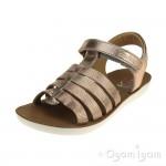 Shoo Pom Goa Spart Girls Copper Sandal