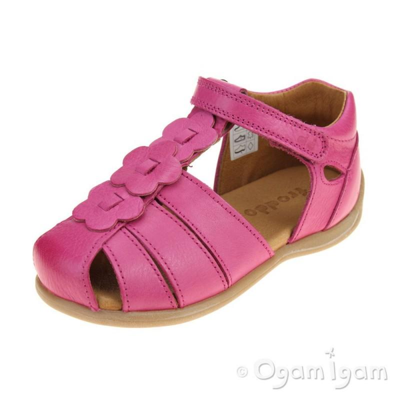e58a32d321b Froddo G2150094 Girls Fuchsia Sandal | Ogam Igam