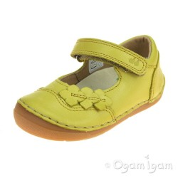 Froddo G2140040 Girls Yellow Shoe