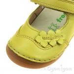 Froddo G2140040 Girls Yellow Shoe