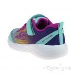 Skechers GoRun 600 Dazzle Strides Girls Turquoise-Multi Trainer