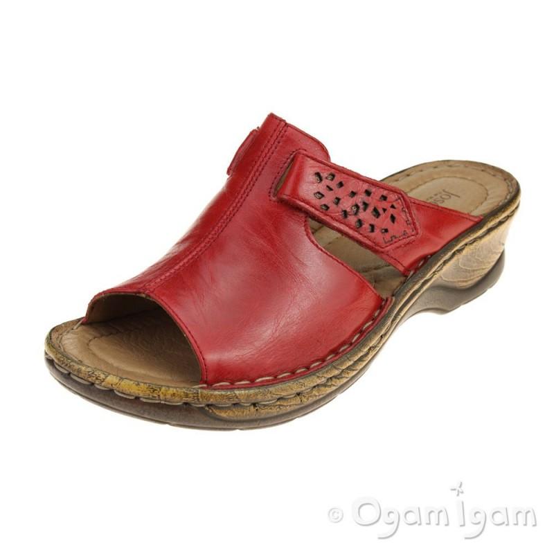 76a0d2af16899 Josef Seibel Catalonia 32 Womens Red Sandal | Ogam Igam