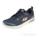 Skechers Dyna-Air Quick Pulse Boys Navy Trainer