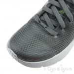 Skechers Dyna-Air Quick Pulse Boys Charcoal Grey Trainer