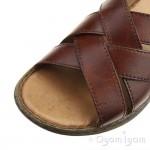 Rieker 2209824 Mens Amaretto Brown Sandal