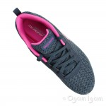 Skechers Dynamight Quick Concept Womens Navy-Hot Pink Trainer
