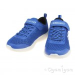 Skechers Dyna-Lite Boys Royal Blue-Black Trainer