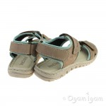 Josef Seibel Lucia 15 Womens Taupe Sandal