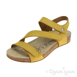Josef Seibel Tonga 25 Womens Saffron Yellow Sandal