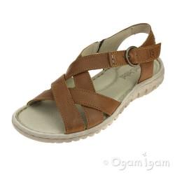 Josef Seibel Lucia 01 Womens Castagne Brown Sandal