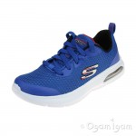 Skechers Dyna-Air Quick Pulse Boys Royal Blue Trainer