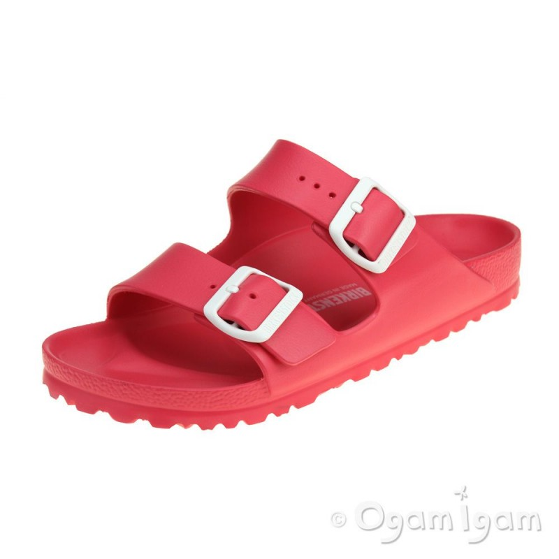 c3a6006e91 Birkenstock Arizona EVA Coral Womens Red Waterfriendly Sandal