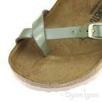 Birkenstock Mayari Patent Womens Khaki Sandal