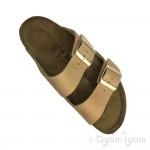 Birkenstock Arizona Washed Metallic Womens Copper Sandal