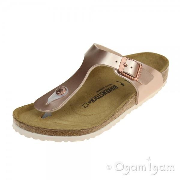 Birkenstock Gizeh Kids Girls Copper Sandal