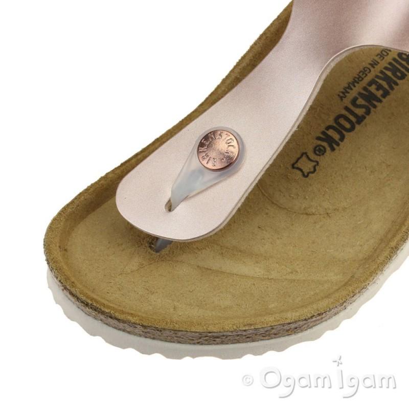 Birkenstock Gizeh Kids Girls Copper Sandal | Ogam Igam