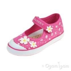 Pablosky 916550 Girls Fuchsia Shoe
