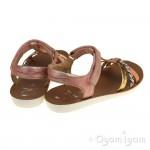 Shoo Pom Goa Salome Girls Clem-Gold Sandal