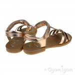 Shoo Pom Happy Salome Girls Copper Sandal