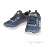 Skechers GoRun 600 Farrox Boys Navy-Charcoal Trainer