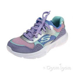 Skechers Meridian Charted Girls Lavendar-Multi Trainer