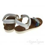 Shoo Pom Goa Multi Girls White-Multi Sandal