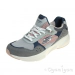 Skechers Meridian Charted Womens Grey-Pink Trainer