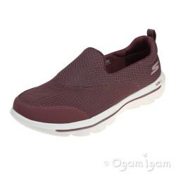 Skechers GoWalk Evolution UltraReach Womens Mauve Shoe
