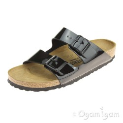 Birkenstock Arizona Patent Womens Black Sandal