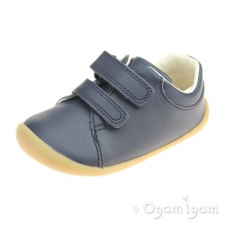 Clarks Roamer Craft Infant Boys Navy Shoe