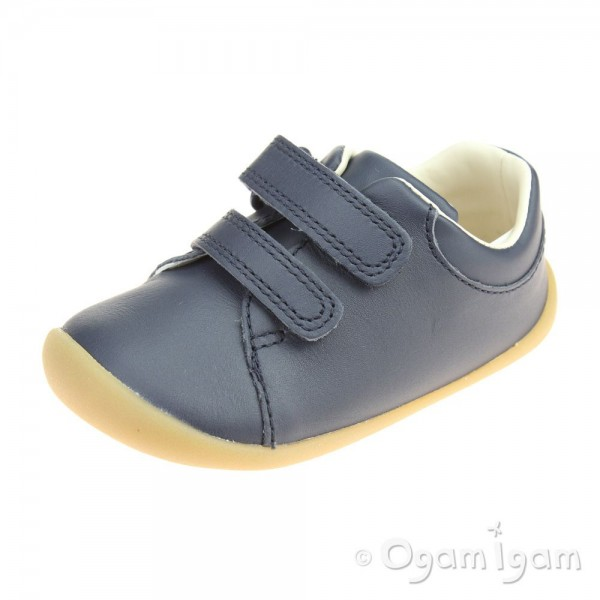 Clarks Roamer Craft Infant Boys Navy Shoe