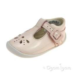 Clarks Roamer Star Infant Girls Blush Shoe