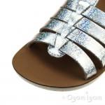 Shoo Pom Goa Spart Girls Hologram Silver Sandal
