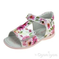 Primigi PBT 34073 Girls Pink White Sandal