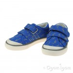 Start-rite Wave Boys Blue Canvas Shoe